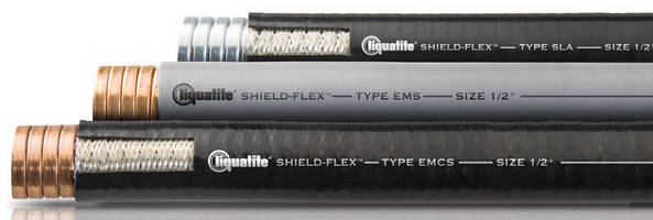 Shielded Flexible Conduits protect circuits from EMI/RFI.