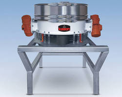 Sanitary Sifter features low-profile configuration.