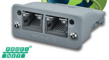 Embedded Communications Module supports PROFIenergy profile server.