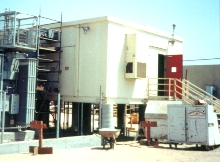 Prefabricated Buildings feature slab or raised installation.