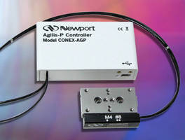 Piezo Motor Linear Stage features closed-loop controller/driver.