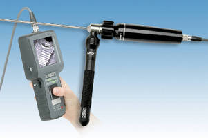 New Rigid Hawkeye Video Borescope . . Fully Portable Visual Inspection and Image Capture