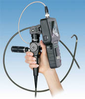 Flexible Video Borescope enables portable inspection, image capture.
