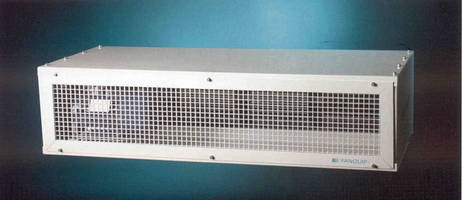 AQIS-Approved Air Curtains offer simplified maintenance.