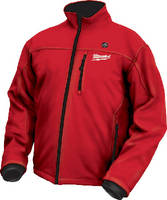 Cordless Heated Jacket offers water and wind resistance.
