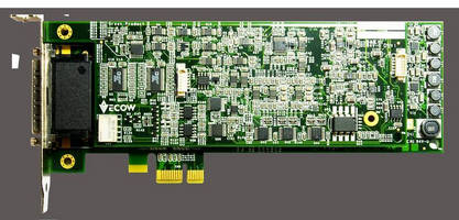 Multifunction DAQ Cards feature PCI/PCIe interface.