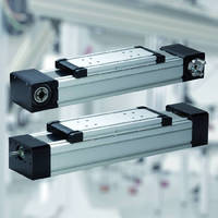 Linear Drive Units utilize spindle or timing belt.