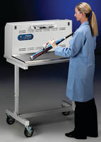 Downdraft Workstation protects users dusting for fingerprints.
