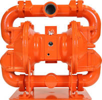 Air-Operated Double Diaphram Pump handles flows to 166 gpm.