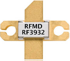 RF Power Transistor supports Green architecture.