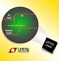 RF Power Detector IC integrates fast comparator.