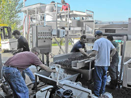 Key Technology Introduces Equipment to Improve Wine Grape Receiving Operations