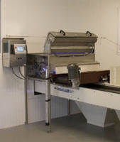 Optical Sorter facilitates seed corn processing.