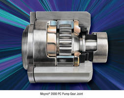 Unique Gear Joint Allows For Maximum Performance of Moyno® 2000 Pump
