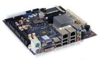 Embedded Mini-ITX Motherboard operates in 0-60°C temperatures.