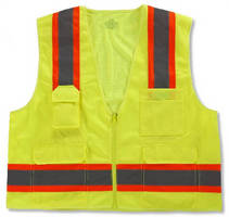 High-Visibility Surveyors Vest is ANSI 107-compliant.