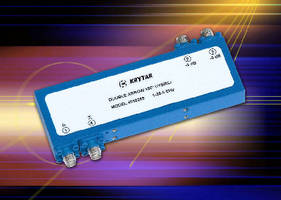 Krytar Announces New Family of Compact Stripline Directional Microwave Couplers Covering 0.3 GHz to 18 GHz