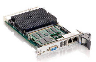 CompactPCI® Processor Board features air-cooled design.