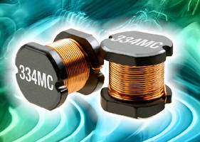 Surface-Mount Inductors offer inductance from 10 µH to 68 mH.