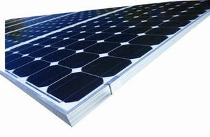 Silicone Elastomers are used in Solar PV panel production.