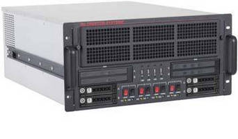 Cluster Computer consolidates 4 systems into 1 enclosure.