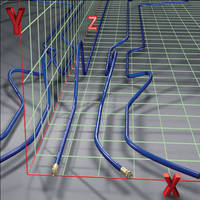 Snap-in-Place Hose is formed to fit unique routing paths.