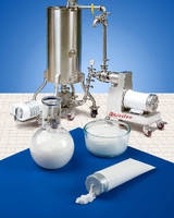 In-Line Wet Mixers Assure Smooth and Creamy Texture