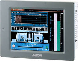 Industrial HMI Touch Panel delivers diverse I/O connectivity.