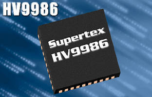 LED Driver IC offers channel-independent fault control.