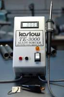 Koslow Scientifics' TE Alloy Sorter Is an Inexpensive Alternative to XRF Equipment