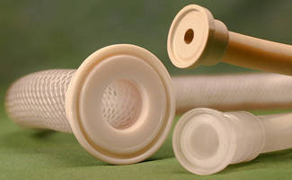 Molded Pipe/Tube Ends offer alternative to barb-style fittings.