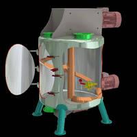 Vertical Mixers enable complete emptying.