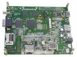 MPU Development Board facilitates ARM microprocessor design.
