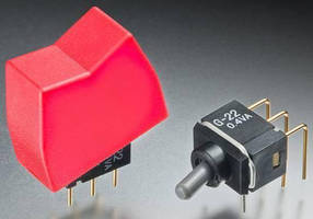 Rocker and Toggle Switches suit space-constrained applications.