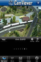 iCamViewer Surveillance iPhone App Supports Axis IP Cameras