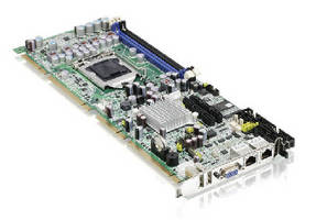 PICMG 1.3 System Host Board suits image processing applications.
