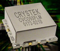 VCO with Extra Modulation Port suits transmitter applications.