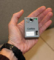 Pump Monitor detects temperature and vibration.