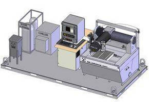 Abrasive Waterjet System meets mobility needs.
