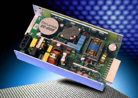 Power Supplies meet medical and ITE safety specs.