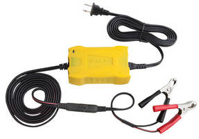 Battery Chargers maintain 12 V lead-acid vehicle batteries.
