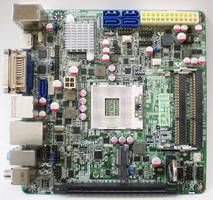 Mini-ITX Motherboard features Intel QM57 Express chipset.