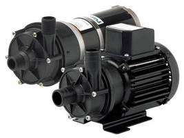 Centrifugal Pumps feature magnetically coupled design.