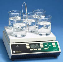 Digital Stirring Hot Plate provides 5 stirring positions.
