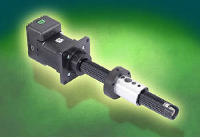 Linear Actuator targets pick-and-place mechanisms.