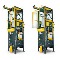 Polycarbonate-Encased Bulk Bag Unloader with Explosion Protection Design Reduces Process Area Contamination; Controls Combustible Dusts