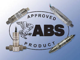 ABS Certified Pressure Sensors Address Marine and Offshore Applications