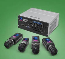 Embedded Vision System supports Power over Ethernet.