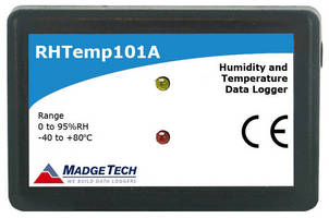 Humidity/Temperature Data Logger has 10-year battery life.