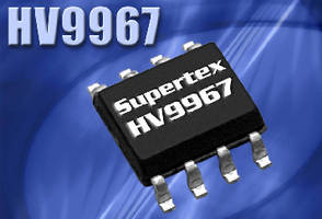 LED Driver IC provides ±3% accurate LED current.